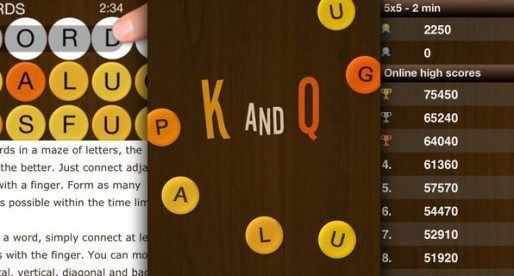 K and Qu – Criss Cross Words 5.0: Who can form the most words?