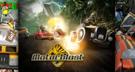 Motorblast 1.0: 3D car racing at its best