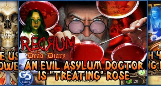 Redrum: Dead Diary 1.0: I can see dead people!