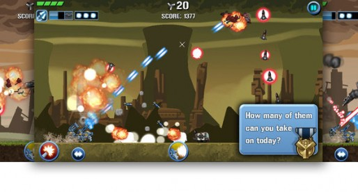 Scrap Tank 1.0: Robot attack!