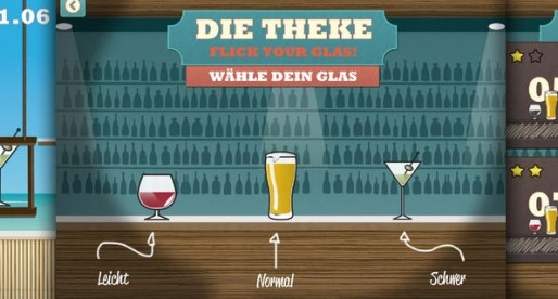Theke – Bar Slide Game 1.0: Do you have what it takes to be a bartender?