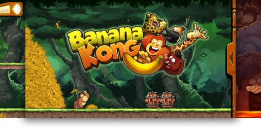 Banana Kong 1.0.4: Trying to escape from the bananas