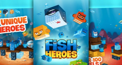 Fish Heroes 1.3: Fight against the shark mafia