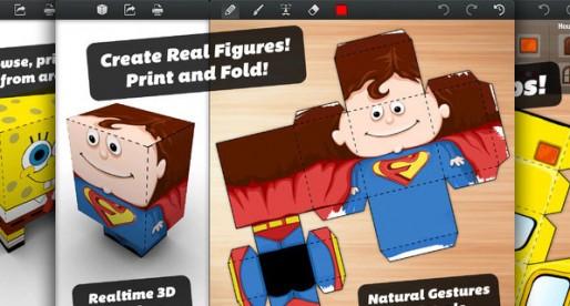 Foldify 1.0.2: Create cool do-it-yourself 3D characters on the iPad