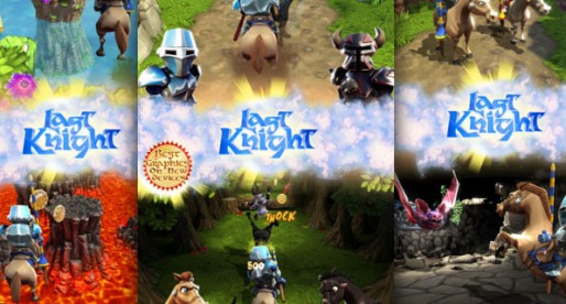Last Knight HD 1.0.1: Don't fall off the horse