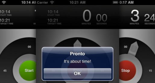 Pronto – Timer App 1.2: Keep an eye on the time
