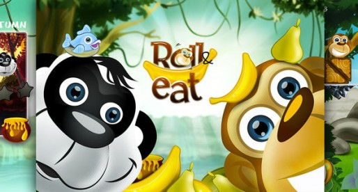 Roll And Eat 1.01: Feeding monkeys and bears