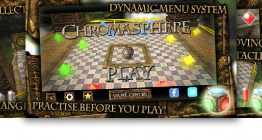Chromasphere 1.0.860: Guide the sphere though a 3D maze