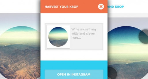 Krop Circle 1.1: Round photos for Facebook & Co