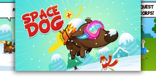 Space Dog + 1.1.3: A dog learns how to fly