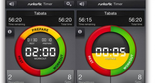 runtastic Timer 1.0: Workout Timer
