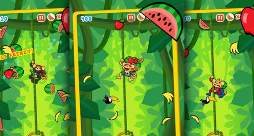 Fruit Monkeys 1.1.0: A hungry monkey's jungle adventure