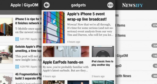 Newsify 1.7: RSS Reader for Google