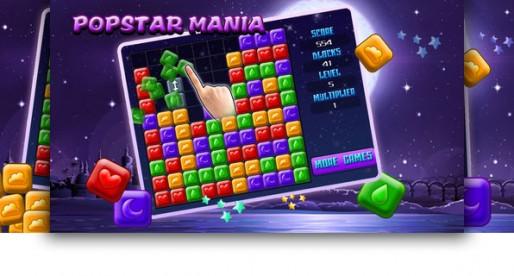 Popstar Mania 1.0: Let's demolish the blocks!
