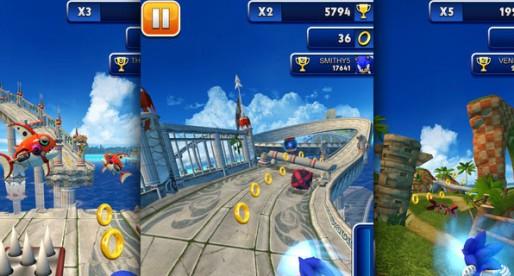 Sonic Dash 1.0.1: Hedgehog on the run