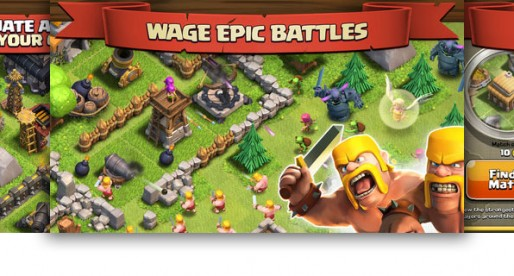 Clash of Clans: A favorite in the App Store during the past few months