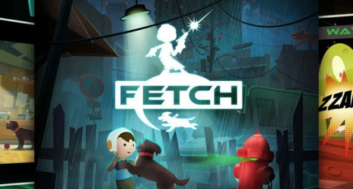 Fetch: Great fun for a dog and his owner