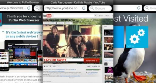Puffin Web Browser: The Safari and Chrome alternative