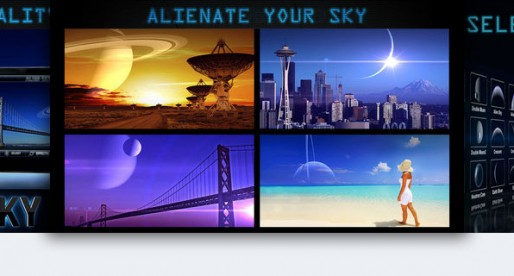 Alien Sky: Caution, unknown objects in the sky!