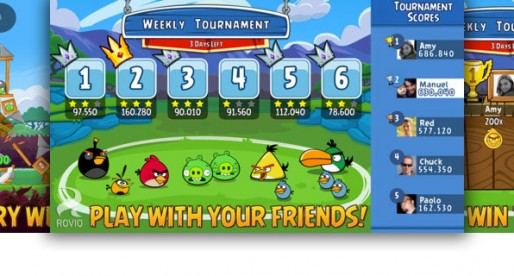 Angry Birds Friends: Facebook is getting down to business