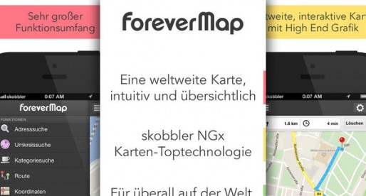 ForeverMap: Maps with their own technology