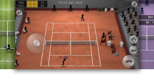 Stickman Tennis: Game, Set and Match Stickman
