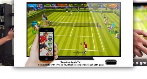 Motion Tennis: Apple TV as Play Station