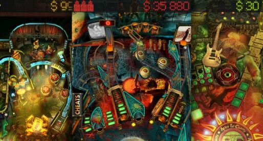Pinball Rocks HD: Hard rock, cool tables
