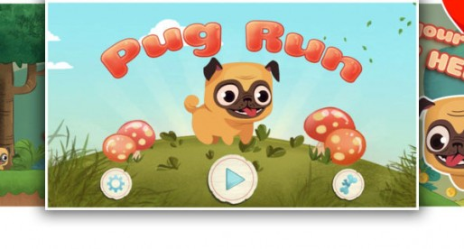Pug Run: Jolly Like A Pug