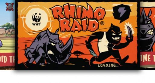 WWF Rhino Raid: Save the Rhinos