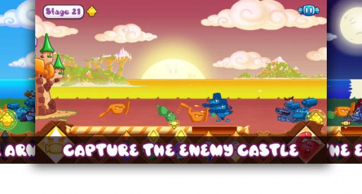 Jelly Tunes Castles: Defend your castle