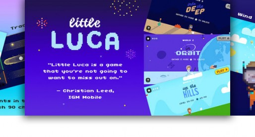 Little Luca: Retro Puzzler with lots of levels