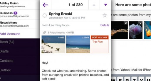 Yahoo Mail now with multi-accounts