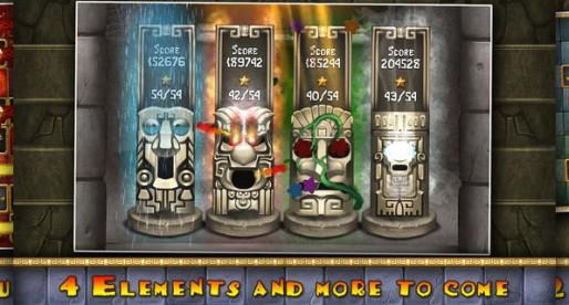 Aztec Puzzle: Let the elements flow
