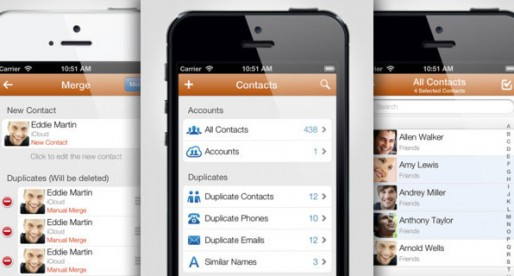 Cleaner – Remove Duplicate Contacts for Addressbook, iCloud, Gmail, Yahoo & Outlook