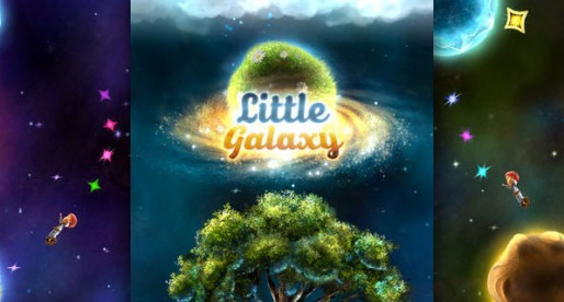 Little Galaxy: Don't fall out of the sky