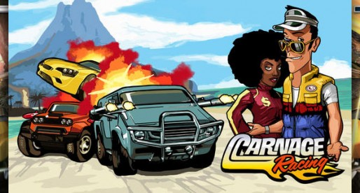 Carnage Racing: You never saw racing cars that lethal