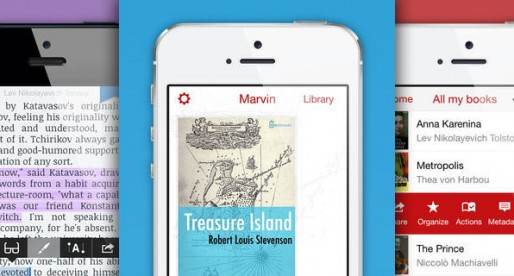 Marvin for iPhone and iPod touch: New eBook Reader