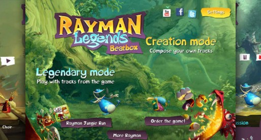 Rayman Legends Beatbox: Cool Music
