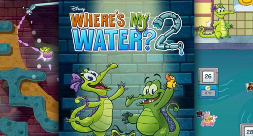 Where's My Water? 2: Swampy is back!