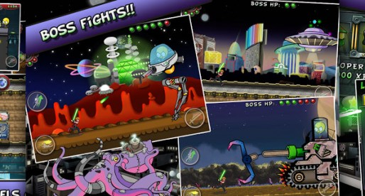 Don't run with a Plasma Sword: Endless Runner with a fun factor