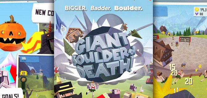 Giant Boulder of Death: The ever-increasing stone