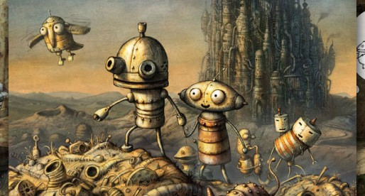 Machinarium Pocket Edition: Solve a complex puzzle in a mysterious world