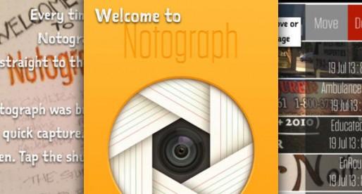 Notograph: Organize your photos