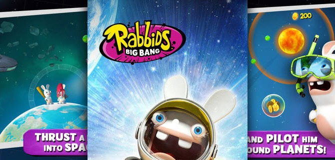 Rabbids Big Bang: A rabbit's outer space adventure