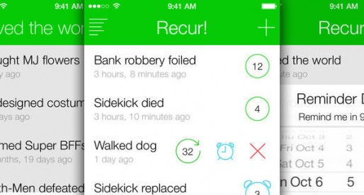 Recur: A To-Do list with a difference