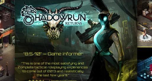 Shadowrun Returns: Welcome to the magical world of cyberpunk