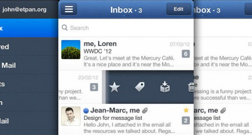 Sparrow: Finally news from the mail client
