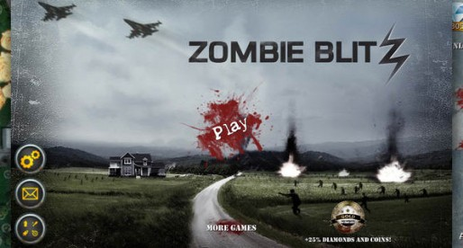Zombie Blitz: Fighting the undead from the air