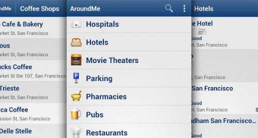 AroundMe: A helpful proximity search